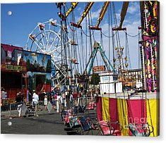 Carnival Starts Today Acrylic Print