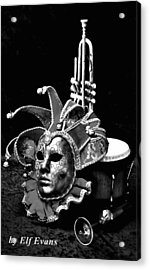 Carnival Time Acrylic Print by Elf Evans