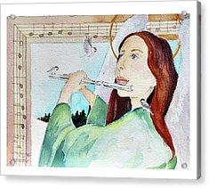 Carol Of The Birds Acrylic Print