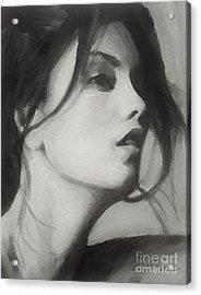 Carol Acrylic Print by Robert Tillotson