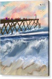 Carolina Beach Acrylic Print