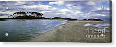 Carolina Inlet At Low Tide Acrylic Print