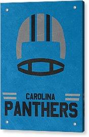 Carolina Panthers Vintage Art Acrylic Print