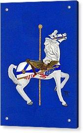Carousel Horse #1 Acrylic Print