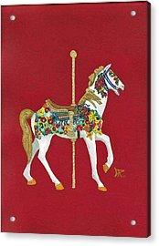 Carousel Horse #2 Acrylic Print