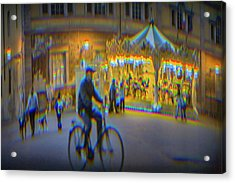 Carousel Lucca Italy Acrylic Print