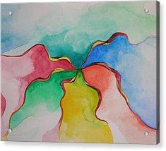 Carousel Acrylic Print by Nick Franco