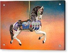 Carousel Sunset Acrylic Print