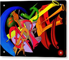 Carpe Diem II Acrylic Print by Helmut Rottler