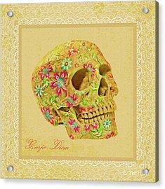Carpe Diem Acrylic Print by Olga Hamilton