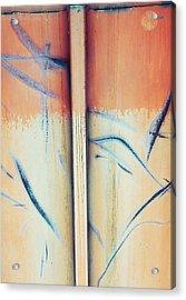 Carpenters Nails  Acrylic Print by Jerry Cordeiro