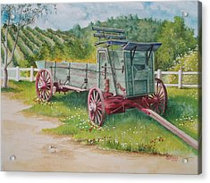 Carriage  Acrylic Print by Charles Hetenyi