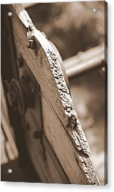 Carriage Acrylic Print by Caroline Clark