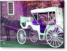 Acrylic Print featuring the photograph Carriage Ride by Susan Carella
