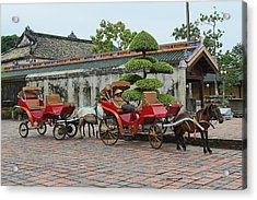 Carriage Rides Acrylic Print