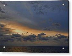 Acrylic Print featuring the photograph Carribean Dawn by Michael Flood