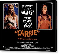 Carrie, Sissy Spacek, 1976 Acrylic Print by Everett