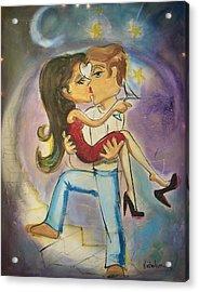 Carried Away Acrylic Print by Sandra Dee Nicholson