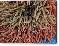 Carrots And Turnips Acrylic Print