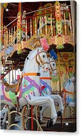 Carrousel 48 Acrylic Print by Joyce StJames