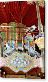 Carrousel 50 Acrylic Print by Joyce StJames