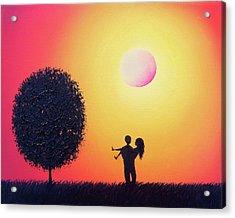 Carry On Acrylic Print by Rachel Bingaman