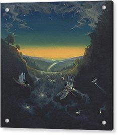 Carry The Light 1 Acrylic Print by Boris Koodrin