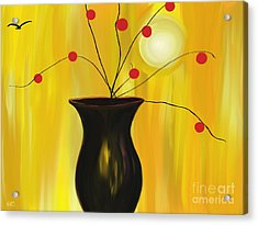 Carrying On Acrylic Print by Roxy Riou