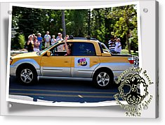 Cars Crossing 105 Acrylic Print by PhotoChasers
