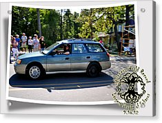 Cars Crossing 106 Acrylic Print by PhotoChasers