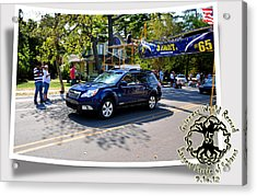 Cars Crossing 114 Acrylic Print by PhotoChasers