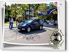 Cars Crossing 114 Acrylic Print
