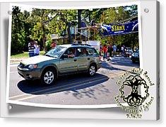 Cars Crossing 127 Acrylic Print