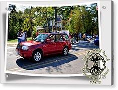 Cars Crossing 256 Acrylic Print