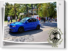 Cars Crossing 283 Acrylic Print by PhotoChasers