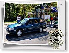 Cars Crossing 59 Acrylic Print