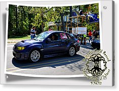 Cars Crossing 64 Acrylic Print by PhotoChasers