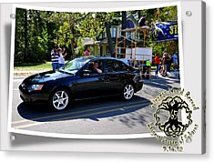 Cars Crossing 71 Acrylic Print by PhotoChasers