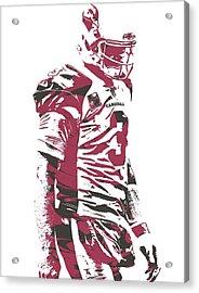 Carson Palmer Arizona Cardinals Pixel Art 6 Acrylic Print