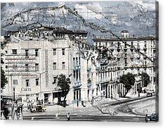 Carte Isle De Cuba Acrylic Print