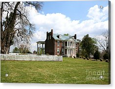 Carter House And Carnton Plantation Acrylic Print