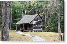 Carter Shields Cabin In Cades Cove Acrylic Print