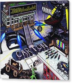 Carton Album Cover Artwork Front Acrylic Print