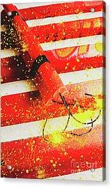 Cartoon Bomb Acrylic Print by Jorgo Photography - Wall Art Gallery