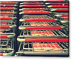 Carts Acrylic Print by Gia Marie Houck