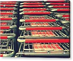 Carts Acrylic Print