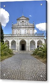 Cartuxa Convent Acrylic Print by Andre Goncalves