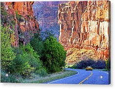 Carving The Canyons - Unaweep Tabeguache - Colorado Acrylic Print by Jason Politte