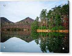 Acrylic Print featuring the photograph Carvins Cove  by Alan Raasch