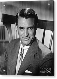 Cary Grant (1904-1986) Acrylic Print by Granger